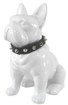 french bull dog statue